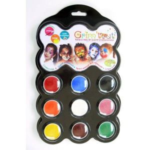 MAQUILLAGE Maquillage - Palette - 9 couleurs : Carnaval
