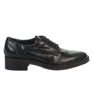 BOTTINE Chaussures à lacet femme  Noir  Millim