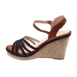 Sandales À La Mode Avec Des Clous Décoratifs Pour Les Femmes Noires Esprit fNp4O