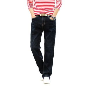 JEANS Jean homme pantalon en jean élastique denim coupe ffcfdcf60f3