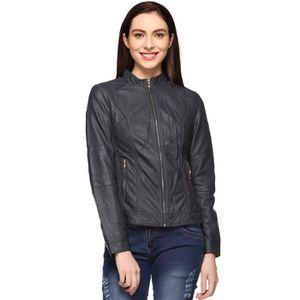 BLOUSON - VESTE Faux Veste en cuir pour femme TV6JM Taille-36