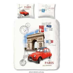 HOUSSE DE COUETTE ET TAIES GOOD MORNING Parure de couette France 100% coton -