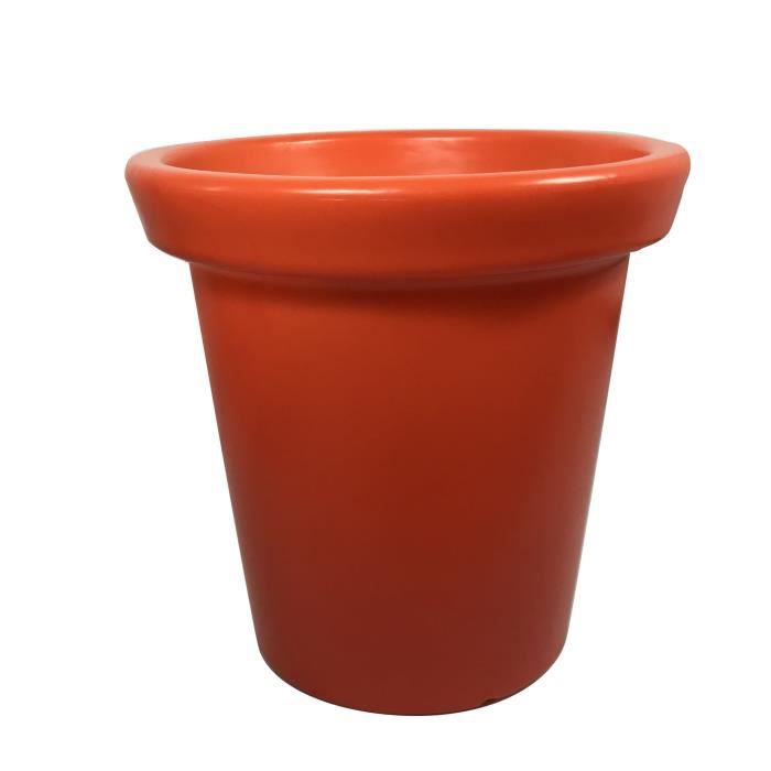 Pot de fleurs Delight - 75 L - Orange