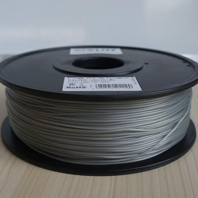 ESUN Filament pour Imprimante 3D ABS ESUN - Argent - 3 mm - 1kg
