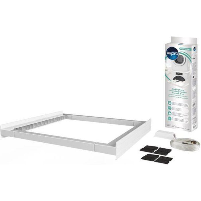 KCL103 Kit de superposition universel pour lave-linge et sèche linge