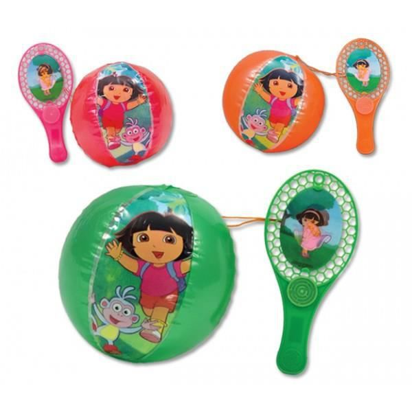 JOKARI - TAP-TAP TAP BALL TAPBALL - DORA - Ballon Gonflable avec ra