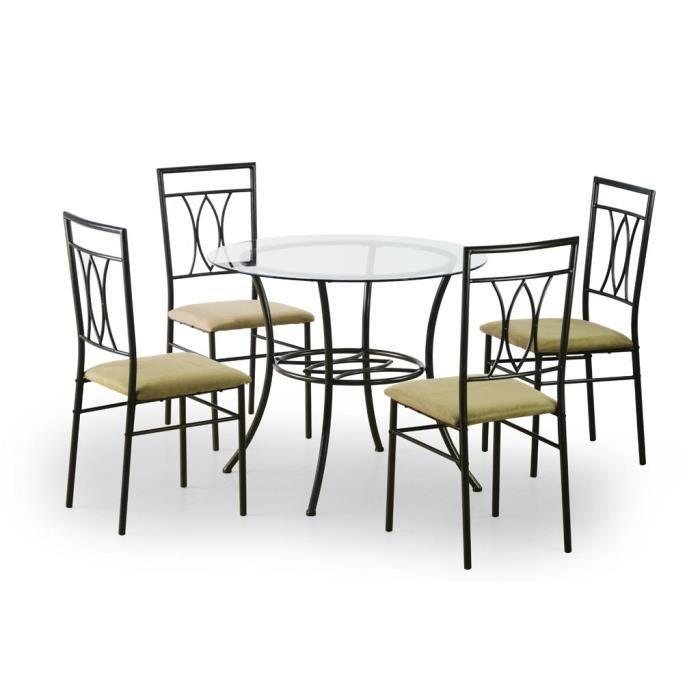 Ronde Ensemble 4 Une Table De Chaises Et PZiuXk