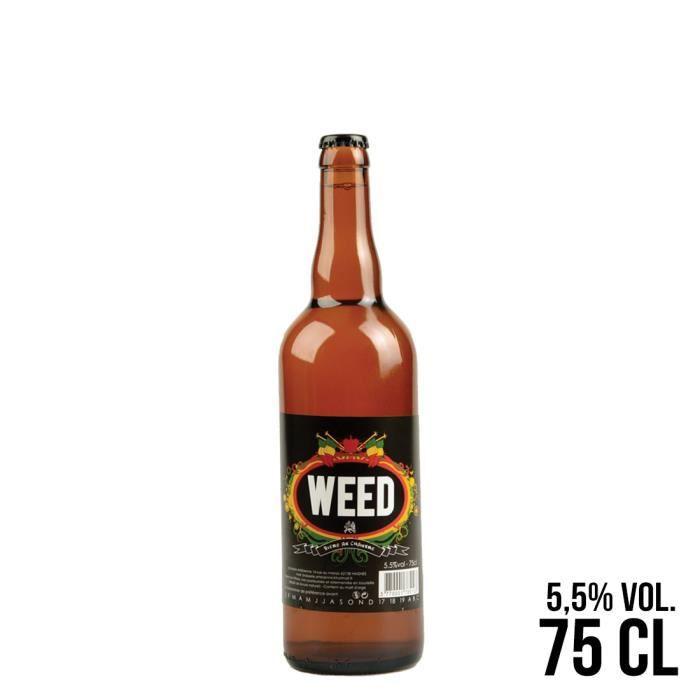 BIÈRE BIERE WEED 75CL 8 x 8 x 30 cm