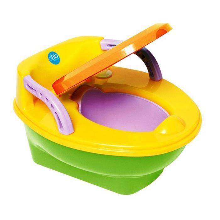 dbb remond pot pour b b ducatif musical d s 6 mois jaune et multicolore achat vente pot. Black Bedroom Furniture Sets. Home Design Ideas