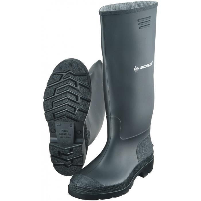 Botte de sécurité Dunlop Pricemastor Taille 40, noir