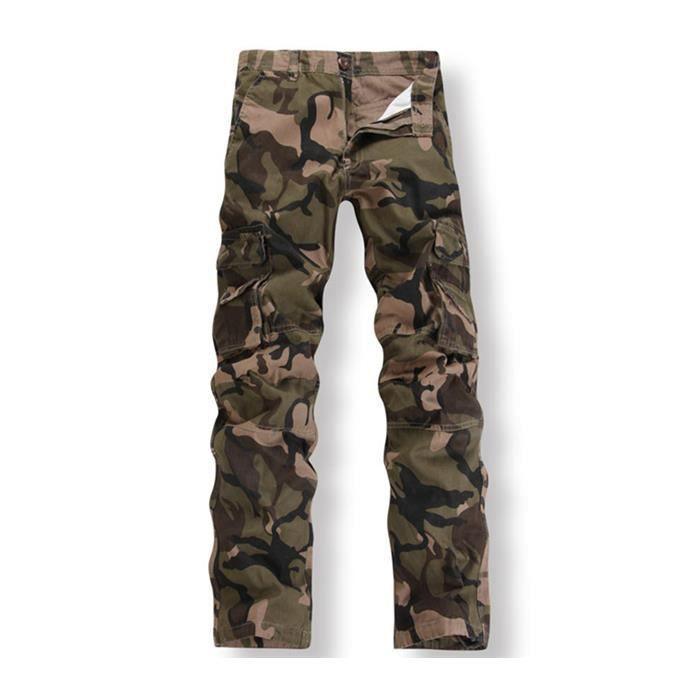 Sable Uniforme Garçon Mode Pantalons Homme Camouflage qx0FXwtH