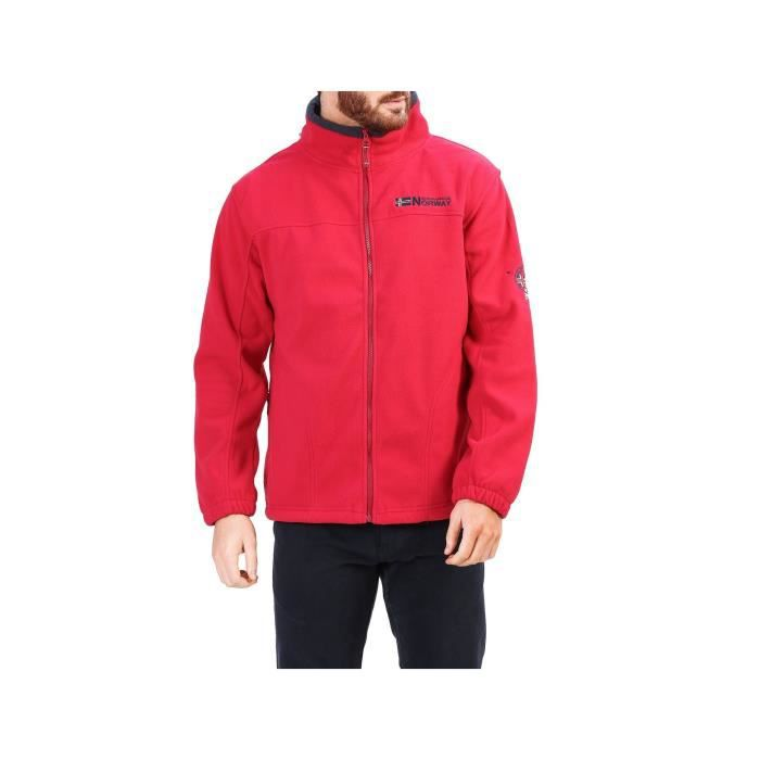 PULL Geographical Norway - Gilet polaire homme Tarizona. Geogrphical Norway. Sweat-shirt polaire.Fermeture par zip. 543484b2639e