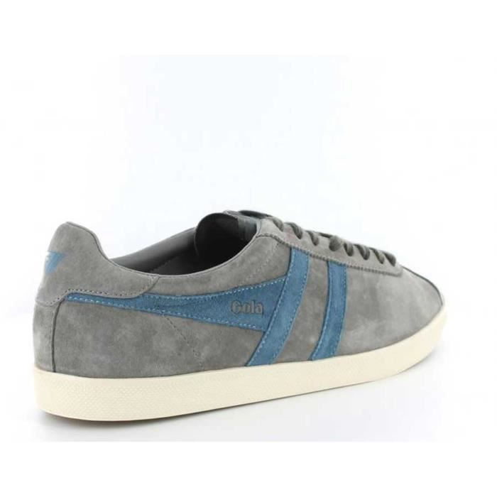 Chaussure Baskets basses Gola Trainer Suede Cool Grey Pro Blue Homme Pointure 44 UJ3wSfHb