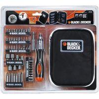 BLACK & DECKER Coffret de tournevis à cliquet avec 56 accessoires