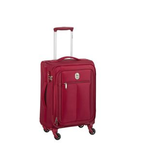 VALISE - BAGAGE VISA DELSEY Valise Trolley Extensible Souple 4 Rou