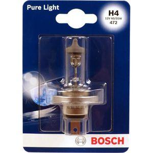 BOSCH Ampoule Pure Light 1 H4 12V 60/55W
