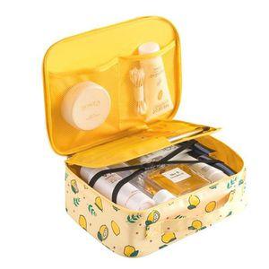 TROUSSE DE MAQUILLAGE Rangement maquillage 22*18*8cm trousse de toilette