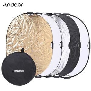 FILTRE - REFLECTEUR Andoer 90*120cm 5 en 1 Oval Portable Multi-disque