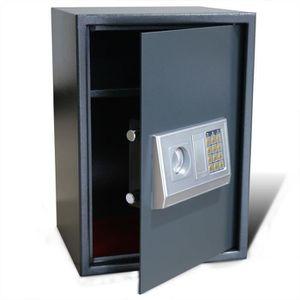 COFFRE FORT Coffre-fort numérique électronique avec étagère 35