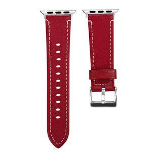 BRACELET DE MONTRE Fashion Leather Replacement Bracelet Strap Band Fo