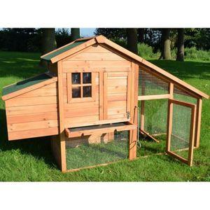 poulailler en bois achat vente poulailler en bois pas cher cdiscount. Black Bedroom Furniture Sets. Home Design Ideas