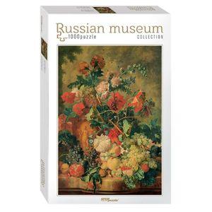 PUZZLE Puzzle 1000 pièces Russian Museum - Jan van Huysum