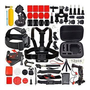 PACK CAMERA SPORT 31pcs Accessoires Kit pour Caméras SJ4000/SJ5000/G