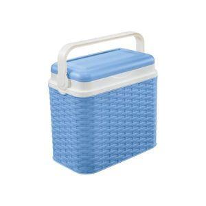 GLACIÈRE ÉLECTRIQUE réfrigérateurs Glacière rotin bleu 10L