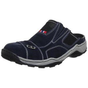 4549f591b9cda8 Hommes chaussures chaussure basse sportif Sneaker tendancey Commodément  Chaussures mule noir 41 Noir Noir - Achat / Vente basket - Soldes* dès le  27 juin !