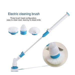 BALAI ÉLECTRIQUE Brosse de nettoyage à gicleur électrique balai PR