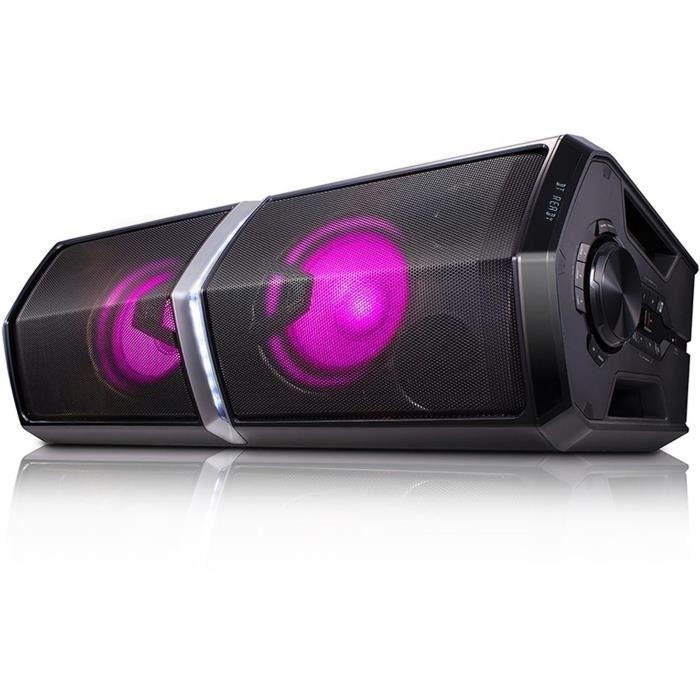 LG FH6 Mini chaîne High Power Bluetooth avec effets lumineux - 600W