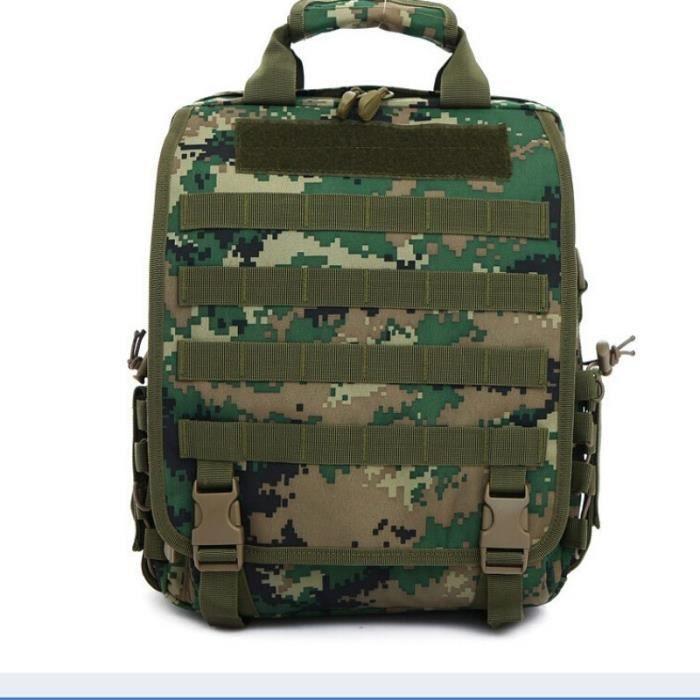 Demeuble-6256 Sac tactique de camouflage Silt Packet unisexe Sports de plein air Sacs à main Sacs à bandoulière Zipper Sacs à dos