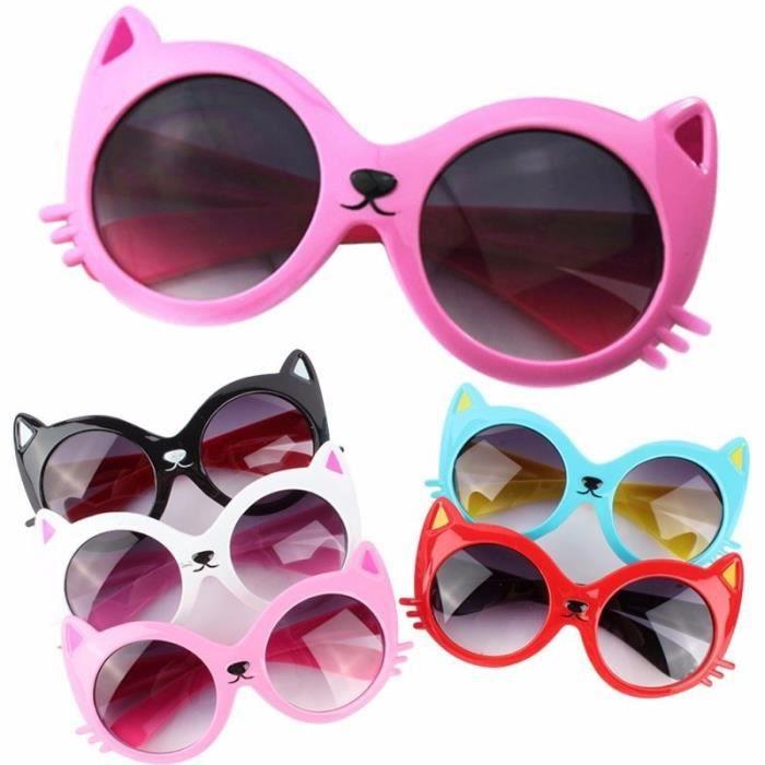 LUNETTES DE SOLEIL y404db Girls Boy 8 couleurs Cartoon Cat Anti UV400. Filles  garçon ... c51c01040eae