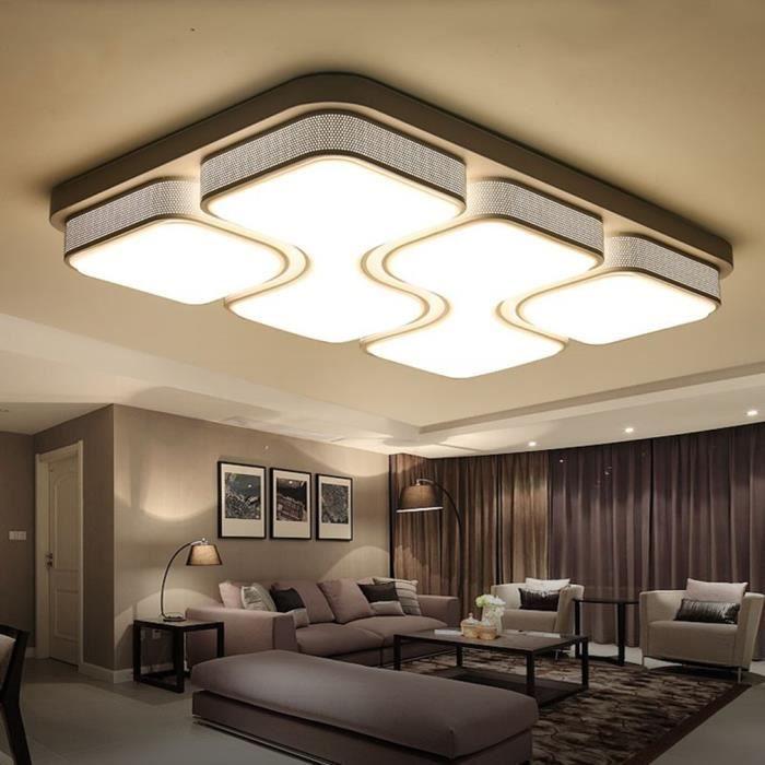 Led Dimmable Plafonnier 50 Lampe 80w Modern Plafond De shCtQdr
