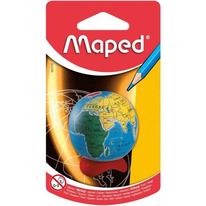 FLOCON DE MAÏS MAPED Taille-crayons avec Réserve Globe - 1 usage