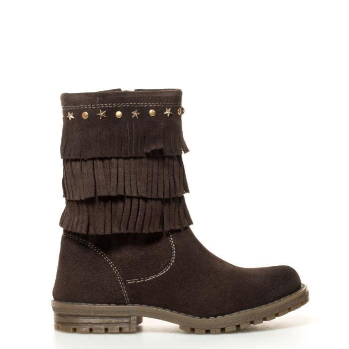 Gioseppo - Ranchera bottes en cuir marron