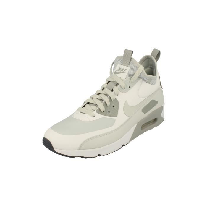 taille 40 50aeb a7079 Nike Air Max 90 Ultra Mid Winter Hommes Hi Top Trainers 924458 Sneakers  Chaussures 100