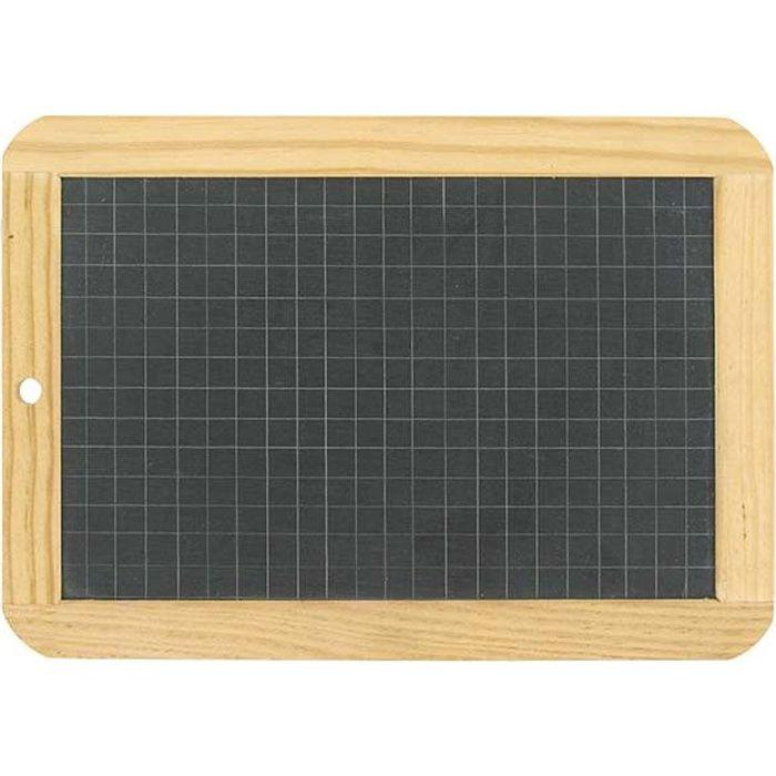 ardoise naturelle cadre pin 18x26 cm 1 face q� achat
