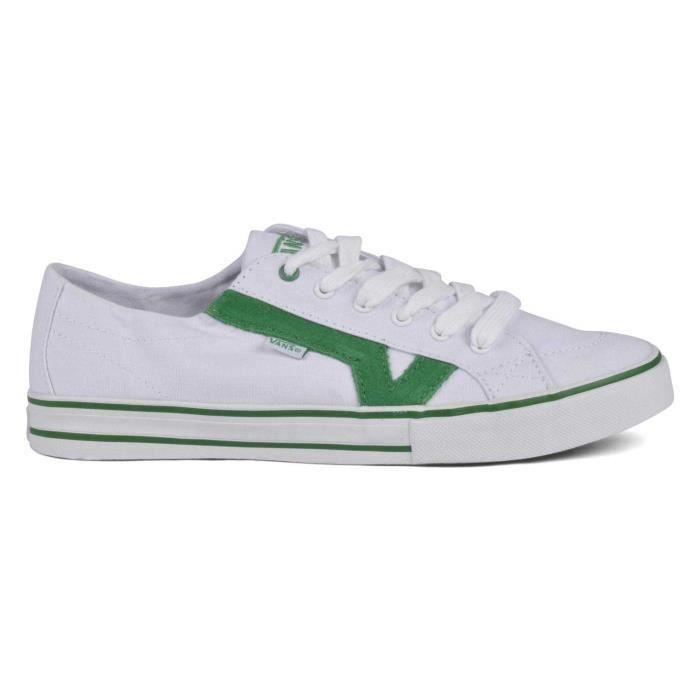 Chaussure Basse VANS Tory True White Green Unisex Pointure 40