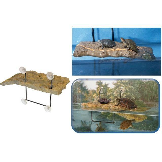 ile pour tortue d'aquarium