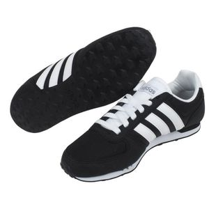 ou noir synthétique City neo cuir basses racer neo Adidas Chaussures AqpBEZB
