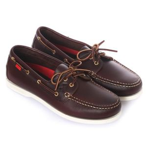 NAUTICAL COLOR anthracite-rouge - Chaussures bateau homme SLAMAnthracite-Rouge 7PXQAad