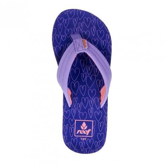 Little Purple Tongs Reef Jr Hearts Ahi xRqwwZBY