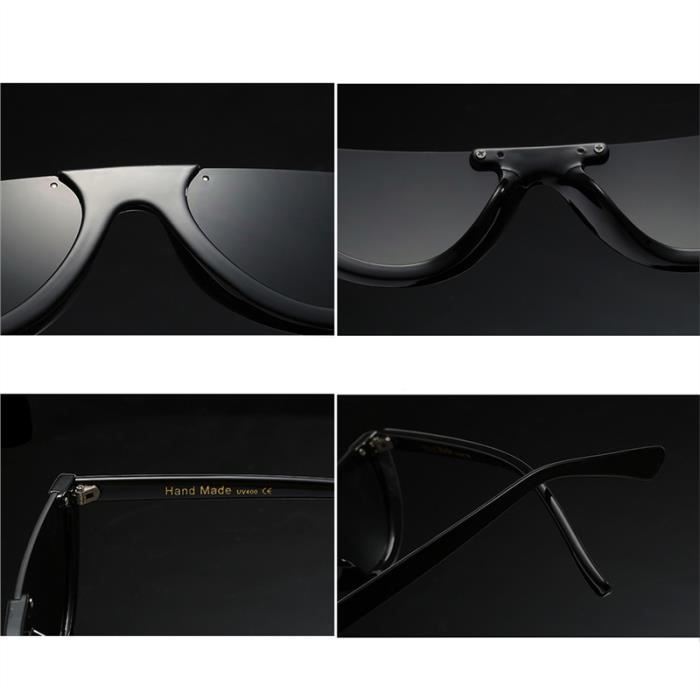 Hommes Femmes Rétro Clout lunettes avec protection UV Fonction