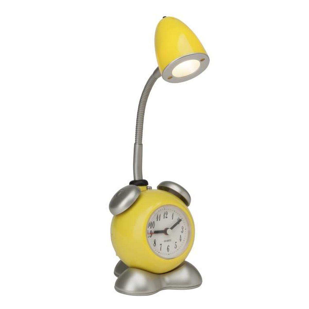 Lampe de chevet jaune achat vente lampe de chevet for Lampe chevet pas cher
