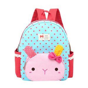 CARTABLE Sac à dos cartable pour enfants lapin animal sac à