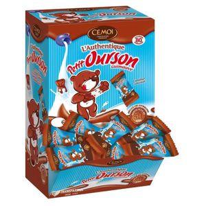 GUIMAUVE CEMOI Lot de 80 guimauves Oursons au chocolat - 1