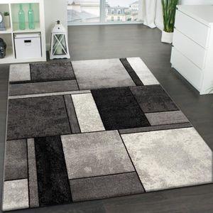 tapis salon gris 160x230 achat vente pas cher. Black Bedroom Furniture Sets. Home Design Ideas