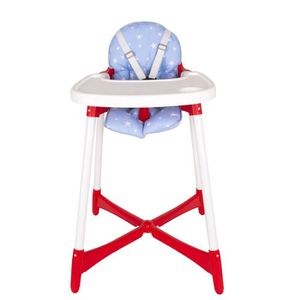 CHAISE HAUTE  Sevibaby - Coussin chaise haute - (Blue Star)