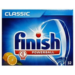 MÉNAGÈRE FINISH Lave-vaisselle Tabs classique citron * 32 c